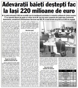 articol Ziarul de Iasi 11.11.2014