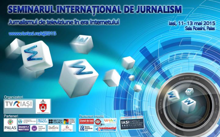Afis Seminarul International de Jurnalism