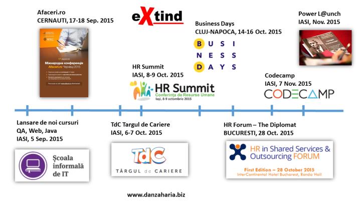 2015 evenimente Extind Dan Zaharia