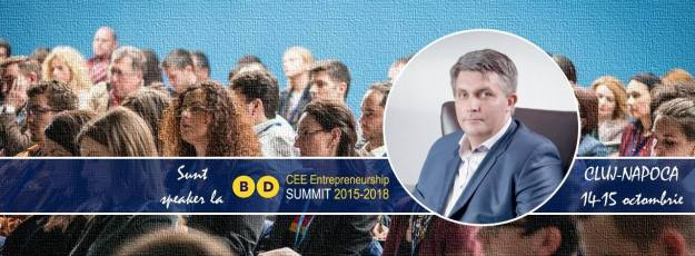 moderator CEE Business Days Cluj