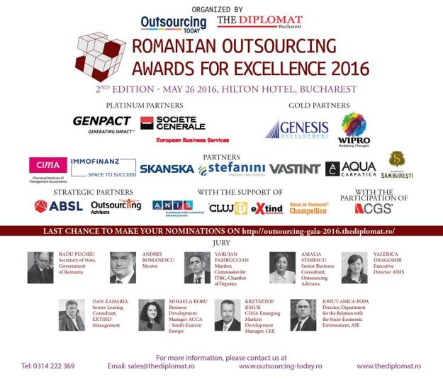 Outsourcing Awards 2016