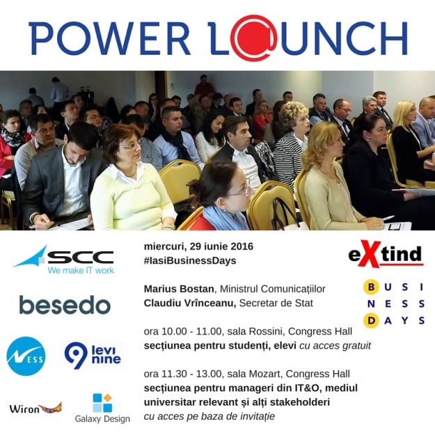 invitatie Power L@unch - revised