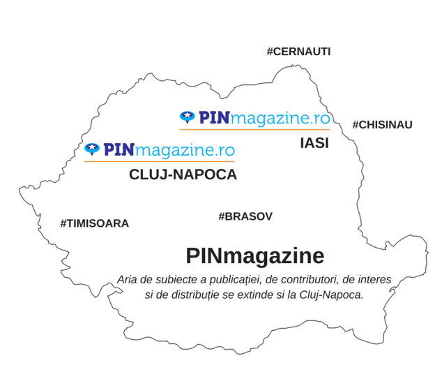 PIN Map Next City is Cluj